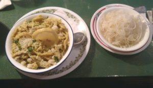 Spaetzle at Morse's Sauerkraut