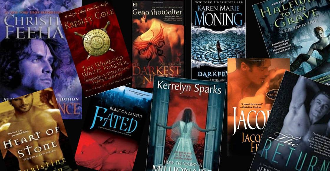 Top 10 Best Paranormal Romance Series Picks